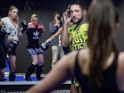 Kickboksen voor vrouwen in Den Bosch