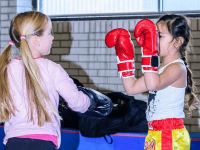 Kickboksen voor vrouwen in Dordrecht